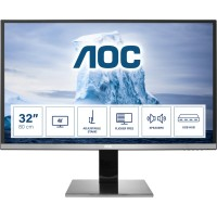 80cm/31,5cm (3840x2160) AOC Pro-line U3277PWQU 4ms HDMI DVI VGA DisplayPort Speaker VESA 4K UHD Black
