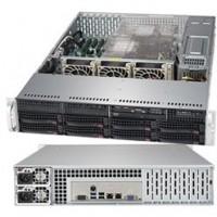 "Barebone Server 2 U Dual 3647; 8 Hot-swap 3.5""; 1000W Redundant Titanium, 6029P-TRT"