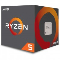 AMD AM4 Ryzen 5 6 Box 2600X 4,25 GHz 6xCore 19MB 95W with Wraith Spire cooler