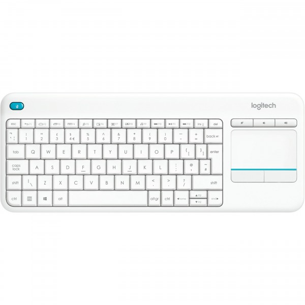 Logitech K400 Plus wireless Touch white US
