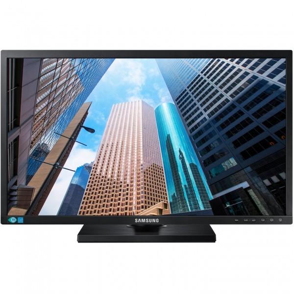 """60,96cm/24"""" (1920x1200) Samsung S24E650XW Full HD VGA DVI Pivot DP black"""