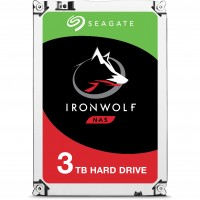 3TB Seagate IronWolf ST3000VN007 5900RPM 64MB