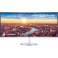 "86,4cm/34"" (3440x1440) Samsung C34J791WTU UltraWide Quad HD 2x Thunderbolt HDMI DP LS 4 ms Grey"