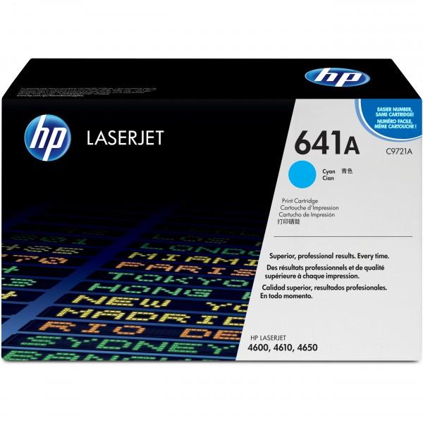 HP C9721A cyan #641A