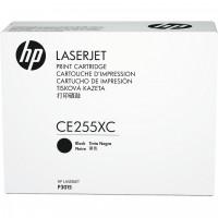HP # 55X CE255XC black Contract-Toner - Hohe Kapazität