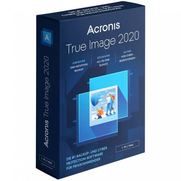 Acronis TrueImage 2020 Box 1 Computer DE