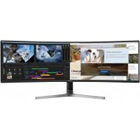 TFT 124,2cm/49'' (5120x1440) Samsung C49RG94SSU CRG9 Series Curved 4ms 32:9 DisplayPort HDMI USB VESA UWDQHD Dark Grey