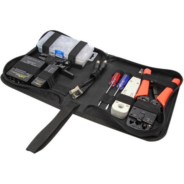 Netzwerk Werkzeug Set mit Tasche, 6 parts, PrimeLine LogiLink