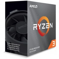 AMD AM4 Ryzen 3 4 Box 3100 4xCore max Boost 3,9GHz 16MB 65W with Wraith Stealth Cooler