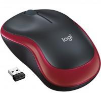 Logitech M185 Wireless red