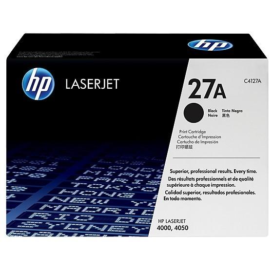 HP C4127X #27X black