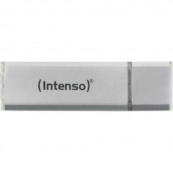 USB Stick 4GB Intenso Alu Line Silber