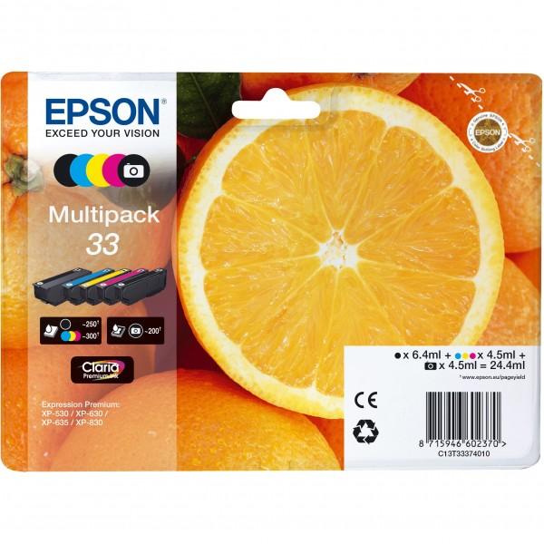 Epson C13T33374011 CMYK + photo black
