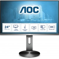 "60,5cm/23,8"" (1920x1080) AOC Pro-line I2490PXQU/BT Full HD IPS 4ms VGA HDMI DP 4xUSB 3.0 Grey"