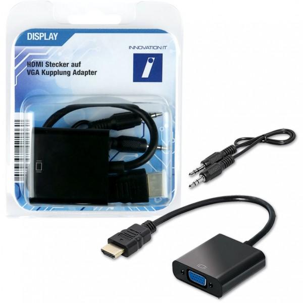 HDMI > VGA + 3,5mm Stereo (ST - BU) Adapter   Innovation IT