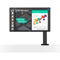 68,6cm/27'' (2560x1440) LG 27QN880-B 16:9 5ms 2xHDMI DisplayPort VESA Pivot Speaker Quad HD Dark Grey