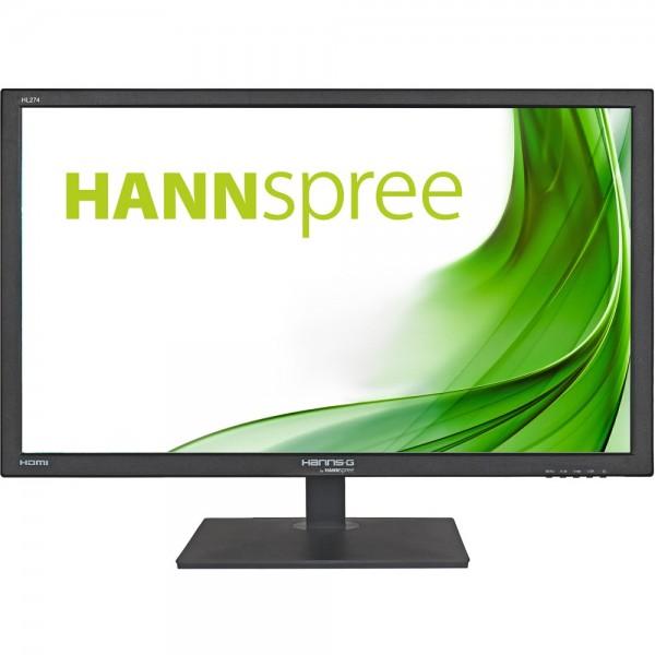 "69cm/27"" (1920x1080) Hannspree HL274HPB HDMI DVI VGA LS 16:9 black"