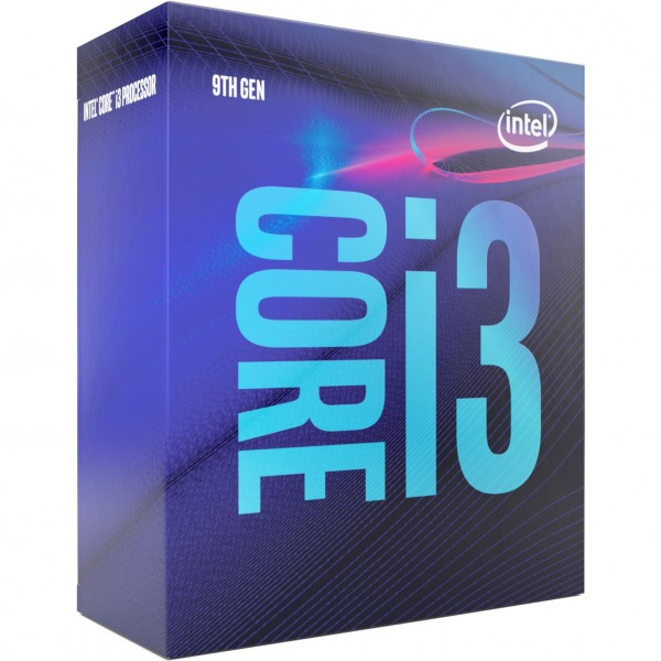 Intel S1151 CORE i3 9100 BOX 4x3,6 65W GEN9