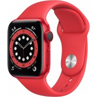 Apple Watch Series 6 GPS + Cellular, 40mm PRODUCT(RED) Aluminium Case with PRODUCT(RED) Sport Band - Regular *NEW*