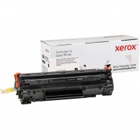 TON Xerox Black Toner Cartridge equivalent to HP 35A / 36A / 85A for use in LaserJet P1005, P1006, P1505, M1120, M1522, Pro P1102, M1130, (CB435A)
