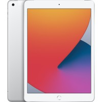 "Apple iPad 10,2"" Wi-Fi + Cellular 128GB - Silver *NEW*"