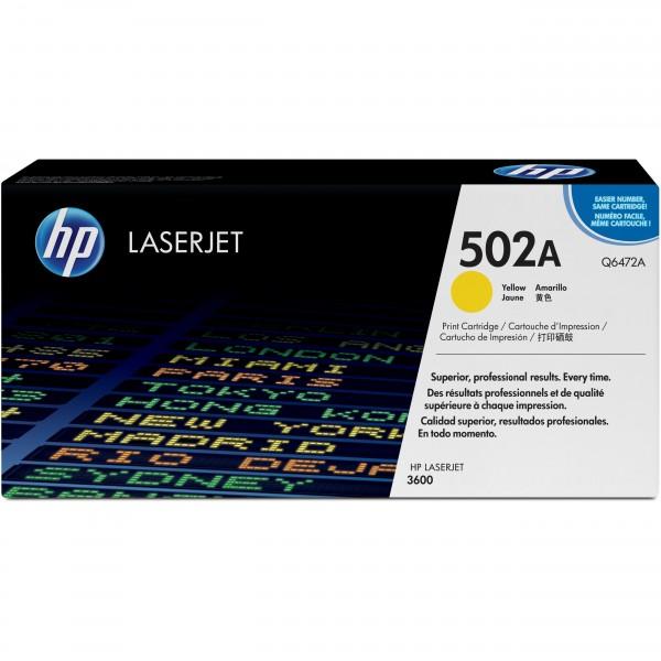 HP # 502A Q6472A yellow