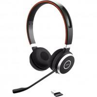 Jabra Evolve 65 MS Stereo Headset Bluetooth MS inkl. Ladegerät