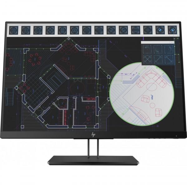 """61cm/24"""" (1920x1200) HP Z24i G2 Full HD IPS USB Hub VGA HDMI DP Pivot black"""