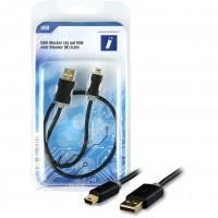 USB A-B mini ST-ST 0,5m | Innovation IT
