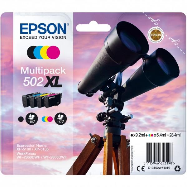 Epson 502 C13T02W64010 CMYK