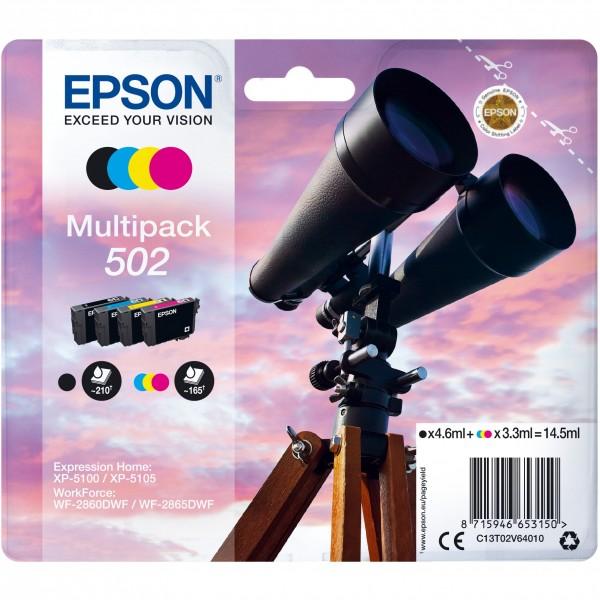 Epson 502 C13T02V64010 CMYK