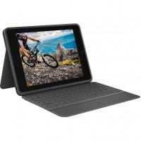 Logitech Rugged Folio Bluetooth Tastatur und Schutzhülle iPad 7. Gen Black