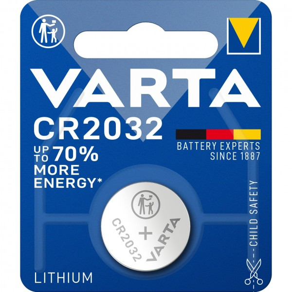Knopf CR2032 Varta (1-Stück)