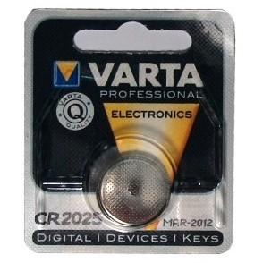Knopf CR2025 Varta (1-Pack)