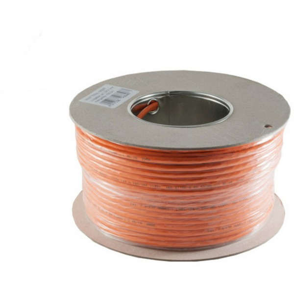 Patchkabel Verlegekabel CAT7 S/FTP 500m 600Mhz orange
