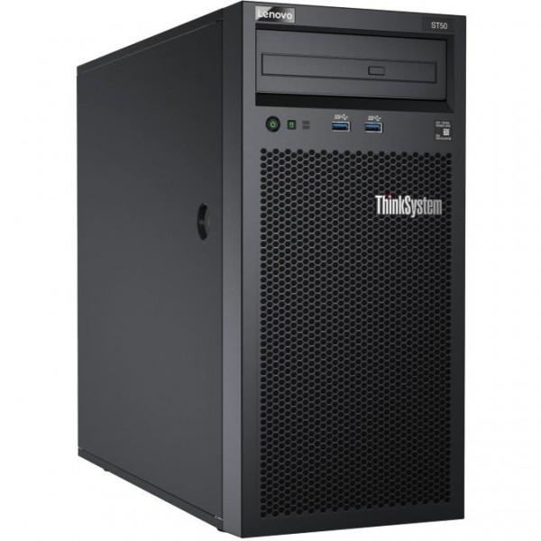 Lenovo ThinkSystem ST50 E-2144G 8GB - Tower (4U) 2x1TB