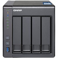 4-Bay QNAP TS-431X-2G Annapurna Labs Alpine AL-212 1.7GHz Dual Core Adapter