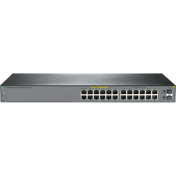 HP Enterprise OfficeConnect 1920S 24G 2SFP PPoE+ (185W) Switch