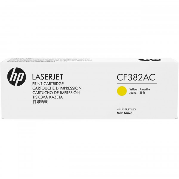 HP # 312A CF382AC yellow Contract-Toner