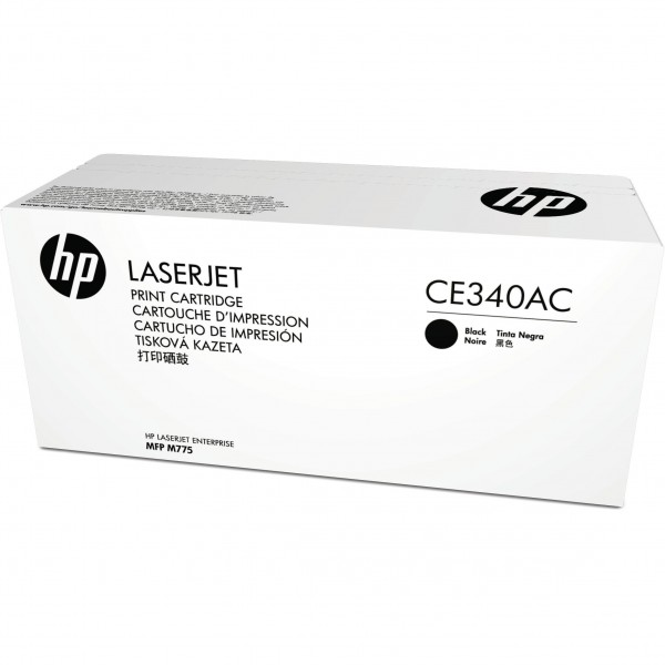 HP # 651A CE340AC black Contract-Toner