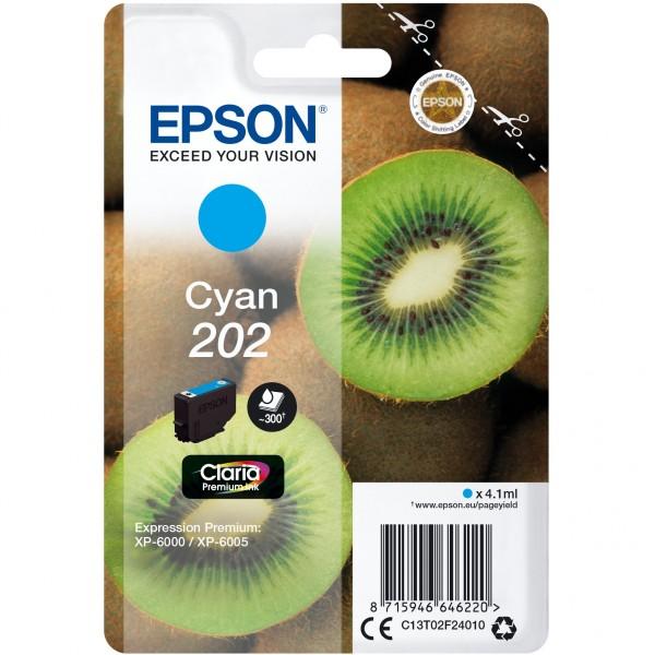 Epson 202 C13T02F24010 cyan