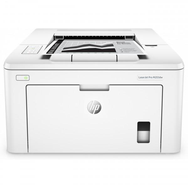 L HP LaserJet Pro M203dw 23S. Duplex/WLAN