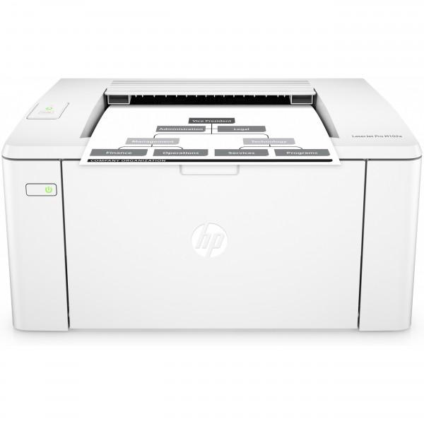 L HP LaserJet Pro M102a 23S. USB2 S/W Laser