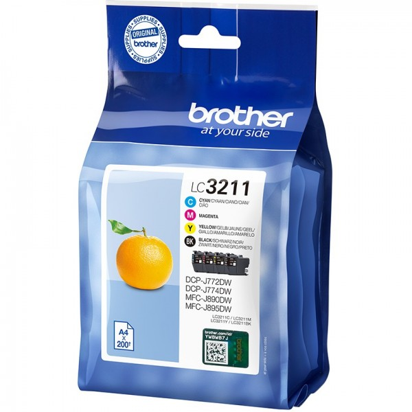 Brother LC3211VALDR CMYK