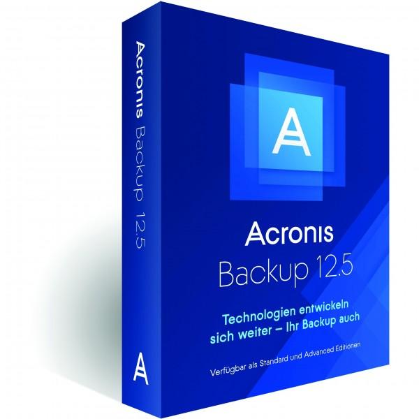 Acronis Backup 12.5AdvancedWorkstation (DE)