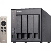 4-Bay QNAP TS-451+-2G Intel Celeron 2.0GHz Quad Core (up to 2.42GHz) Adapter