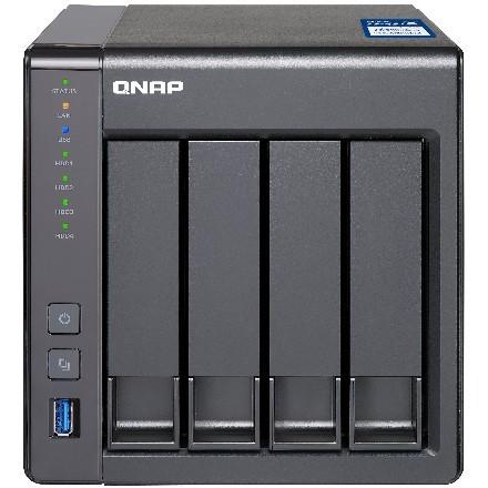 4-Bay QNAP TS-431X-2G Annapurna Labs Alpine AL-212 1.7GHz Dual Core Adapter