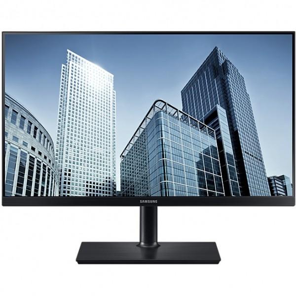 "60,5cm/23,8"" (2560x1440) Samsung S24H850 Wide Quad HD WQHD PLS HDMI DP Pivot USB Hub 5ms black"