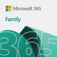 ESD Microsoft Office 365 Family - 6 User (PC/MAC), 1 Year - Download