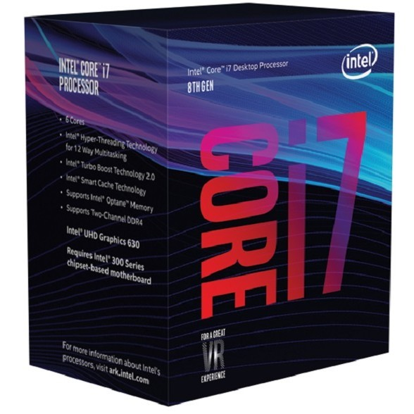 Intel S1151 CORE i7 8700 BOX 6x3,2 65W